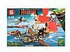 Конструктор SY Ninja Movie Корабль Дар Судьбы: Решающая битва SY893 (Аналог LEGO Ninjago 70738) 849 дет Киев
