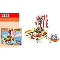 """Конструктор """"Brick"""" 1312 (20шт) """"Pirates"""" 464 дет. в разобр.кор."""