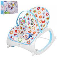 Кресло-качалка для детей 88924 вибро и музыка