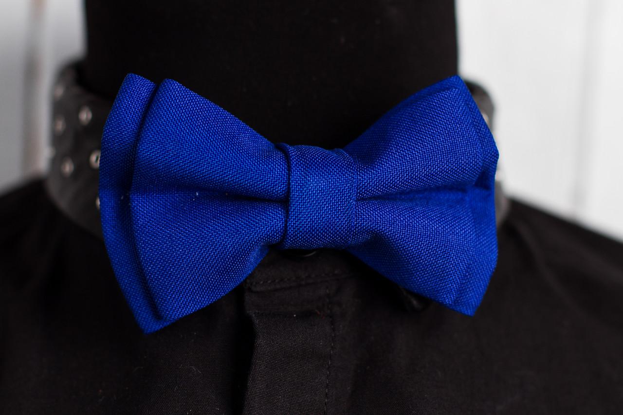 Бабочка детская «Синий цвет»