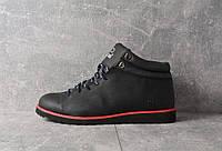 БОТИНКИ Adidas NEO black (ЧЕРНЫЕ) Демисезонные