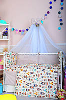 Постельное белье в детскую кроватку Bepino Польша Дети-индейцы