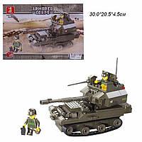 Конструктор SLUBAN M38-B0282R (48шт)  Вооруженные силы , 178 дет, в разобр. кор. 30*20,5*4,5  см..