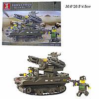 Конструктор SLUBAN M38-B0283(M38-B0283R)(48шт) Вооруженные силы 212дет,в разобр.кор30*20,5*4,5 см.