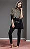 КОСТЮМ С ЛОСИНАМИ CATHERINES 1102,  пижама теплая зимняя, модная, фото 2