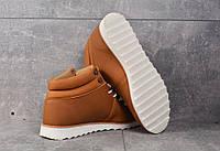 БОТИНКИ Adidas NEO brown (КОРИЧНЕВЫЕ) Демисезонные