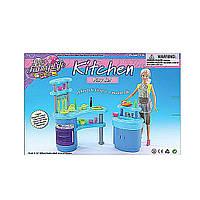 Мебель для куклы для кухни Gloria 2916  в кор, 31*21*6, 5  см.