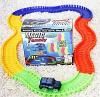 Детская игрушечная дорога Magic Tracks 165 деталей с машинкой, конструктор Мэджик Трэкс, фото 1