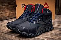 Зимние кроссовки Reebok Zignano, на меху, мужские, темно-синие, р. 41 43 44 45
