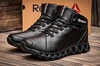 Зимние кроссовки Reebok Zignano, на меху, мужские черные, р. 41 42 43 44 45 46