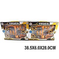 Набор стройтехники 6899-5 (1492351) (36шт) в коробке 38,5*6*28см
