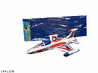 Самолет инерц. 909-C  в пакете 19*13см