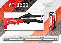 Заклепочник для вытяжных заклепок L-250мм.,  2,4 - 4,8 мм, YATO YT-3601, фото 1