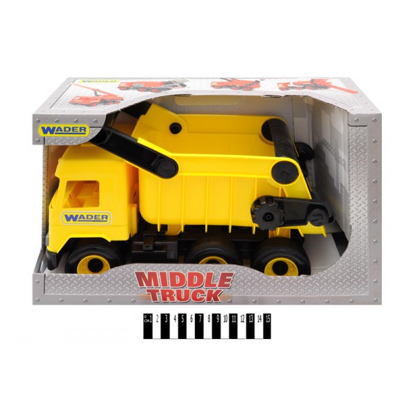 Машинка самосвал Wader Middle truck 39490