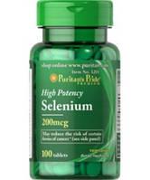 Селен SELENIUM 200 mсg 100 таблеток