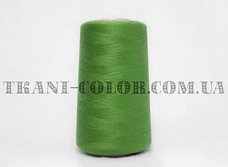 Нитка швейная 40/2 оливково-зеленая 4000 ярдов