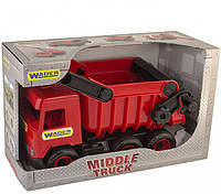 Машинка самосвал Wader Middle truck 39486