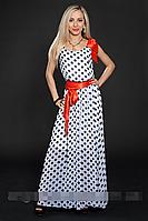 Платье шифоновое мод 306-3 размер 44,46,48