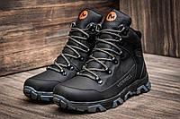 Зимние ботинки мужские Merrell, черные, натуральная кожа, р. 40 41 43