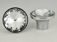 Ручки для мебели с кристаллом 25 мм, фото 1