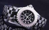 Часы марки Chanel -Шанель j12 - керамика. Белые и черные