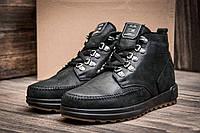 Зимние ботинки Trike, мужские, на меху, натуральная кожа, черные, р. 40 41 42 43 44 45