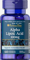 Puritan's Pride Alpha Lipoic Acid 100mg 60 caps