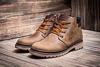 Зимние ботинки мужские Anser Design, натуральная кожа, на меху, оливковые, р. 40 41 42 43 44 45