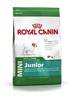 Сухой корм для щенков мини пород Royal Canin Mini Junior 4кг