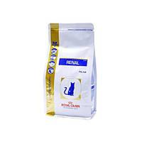 Сухой корм для кошек Royal Canin Renal RF23 Feline 4кг (лечение заболевания почек у кошек)