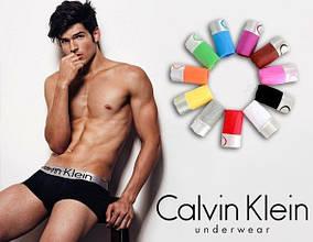 Трусы боксеры Calvin Klein Steel хлопок cotton мужские нижнее мужское белье
