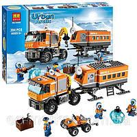 Конструктор Bela серия Urban Arctic 10440 Арктическая мобильная станция (аналог Lego City 60035)