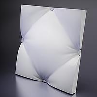 Гипсовые 3D панели для стен Подушка Крупная 50х50