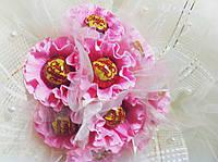 Подарочный букет из конфет ручной работы Невеста