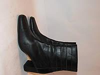 BLU MOTION _Кожа _Германия _Высококачественные женские ботинки _40р_ст.25.5-26см Н71