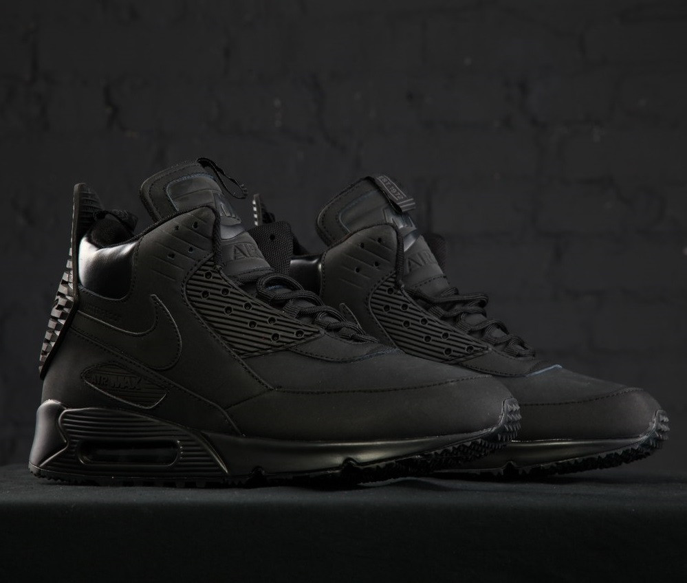 84a16cf12d4 promo code for nike air max 90 sneakerboot wntr triple black f6293 4994e