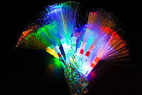 Внутренняя Светодиодная Гирлянда Кисточки Новогодняя на Елку 100 LED Мульти Синий am