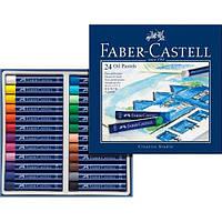 Масляная пастель 24 цвета Faber-Castell Oil Pastels 127024