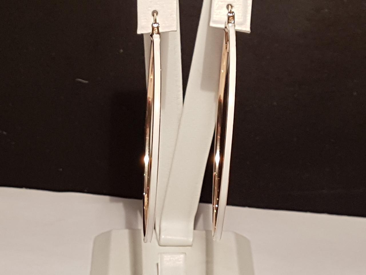 Золотые серьги с эмалью. Артикул 470159е