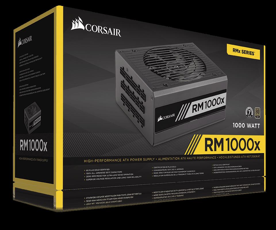 """Блок питания Corsair  RM1000x 1000W """"Over-Stock"""""""