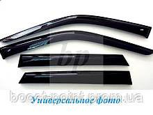 Дефлектори вікон (вітровики) seat toledo III (сеат толедо 2006)
