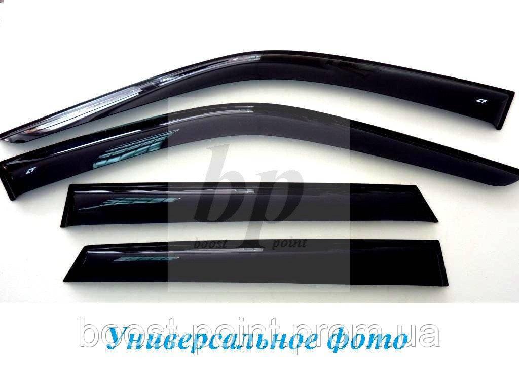 Дефлекторы окон (ветровики) Skoda fabia I (шкода фабия) 1999-2007, фото 1