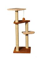 Когтеточка Сказка игровой комплекс для котов многоуровневый джут 109 см