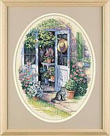 35124 Набор для вышивания крестом DIMENSIONS Садовая дверь