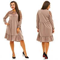 Платье женское большие размеры (цвета) АНД5037, фото 1
