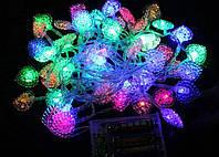 Внутренняя Светодиодная Гирлянда Фигурная на Елку 40 LED Мульти Ассортимент