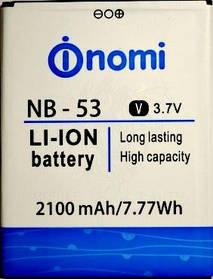 Аккумулятор (Батарея) для Nomi NB-53 i502 Style (2100 mAh)
