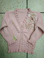 """Детский модный свитер """"Цветочки"""" для девочки"""