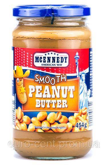 Арахисовая паста Mcennedy peanut butter Smooth 454g