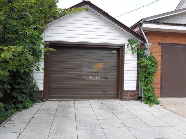 гаражные ворота своими руками